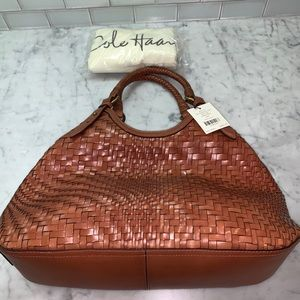 Cole Haan Genevieve Triangle Tote - new with tags!